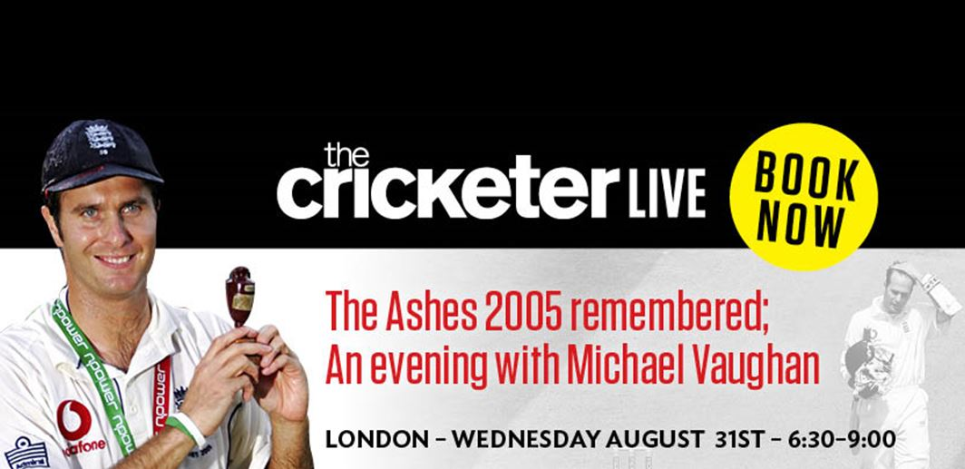 The Ashes 2005 Remembered - An Evening with Michael Vaughan