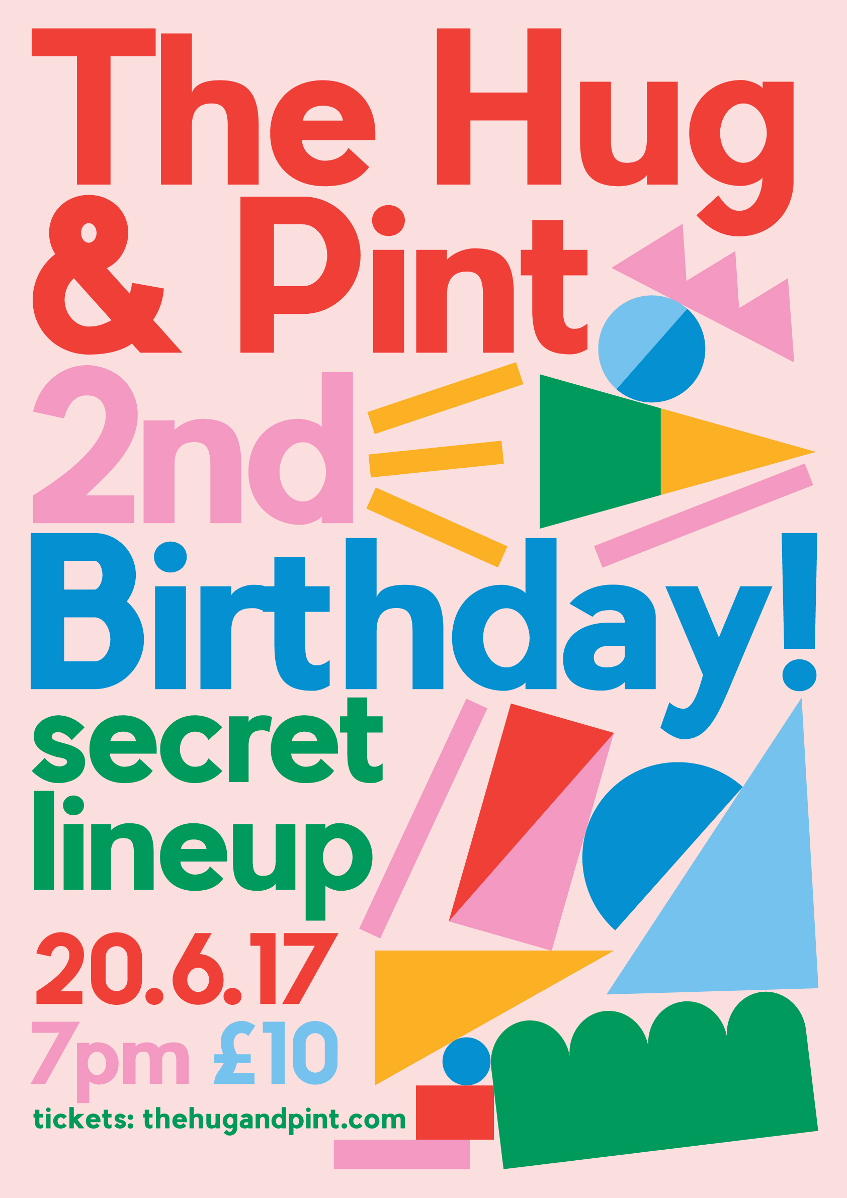 The Hug and Pint 2nd Birthday!
