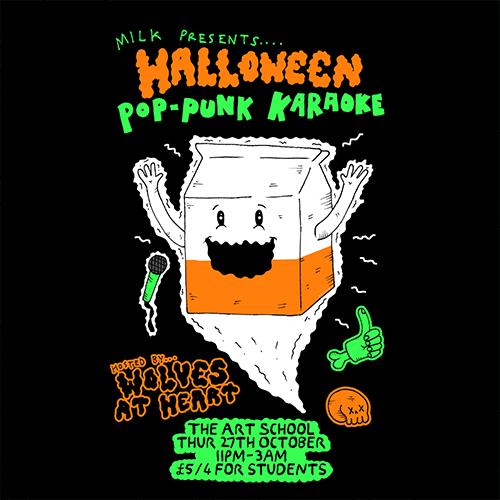 MILK Pop Punk Karaoke Halloween Special