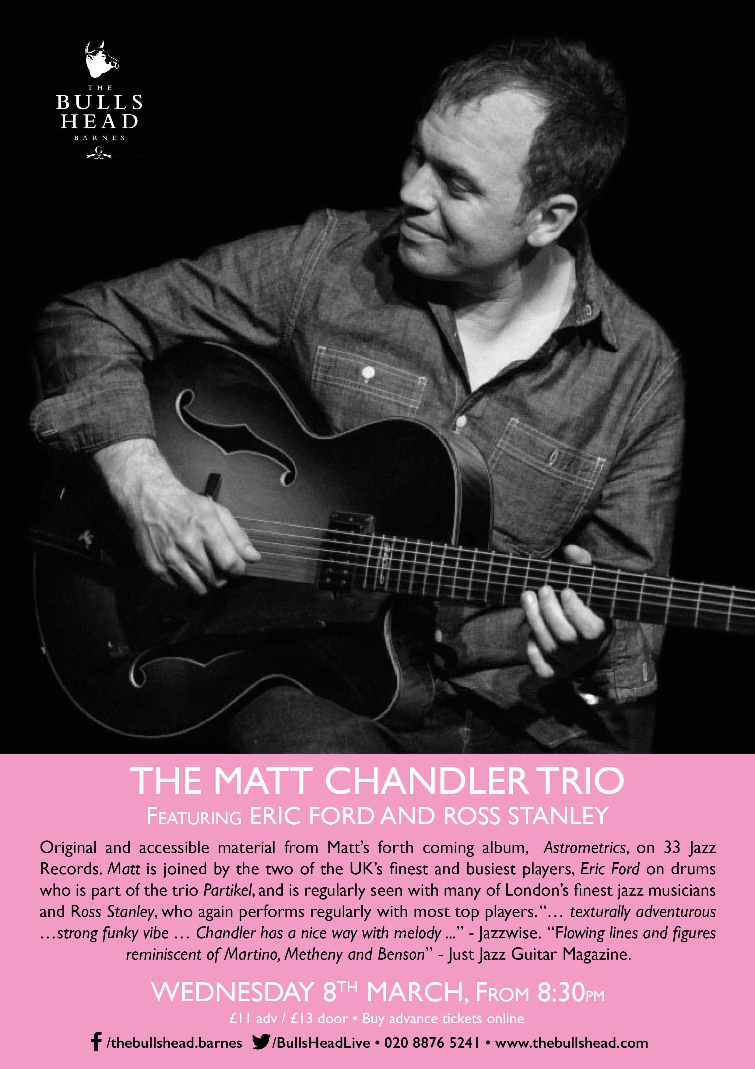The Matt Chandler Trio ft Eric Ford and Ross Stanley