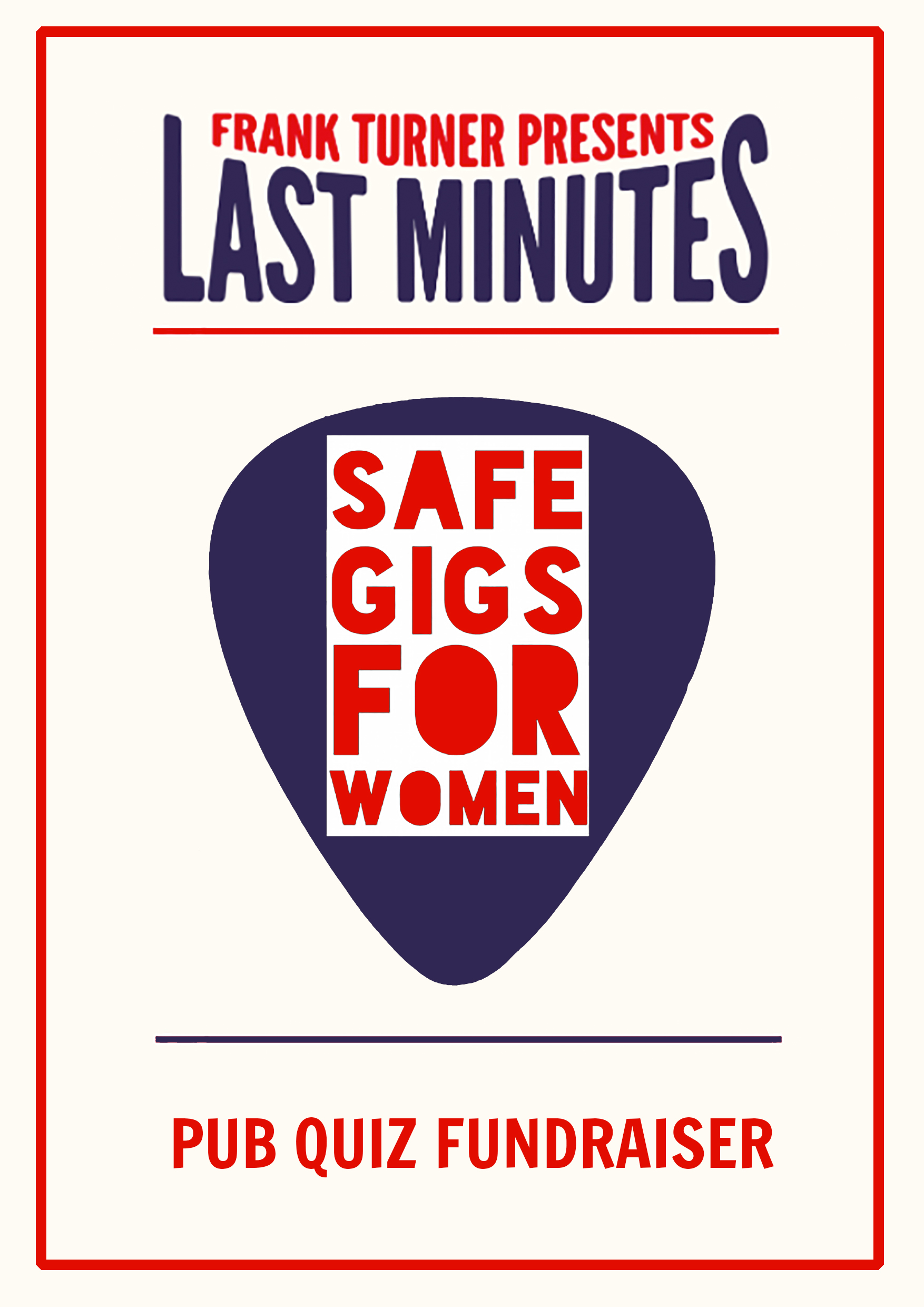 SAFE GIGS FOR WOMEN PUB QUIZ