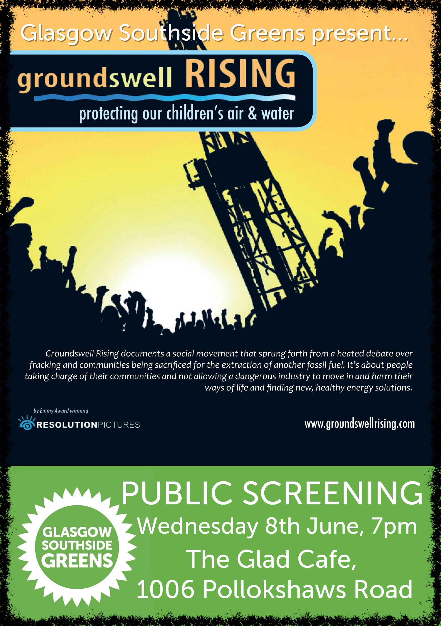 Glasgow Southside Greens: Screening of 'Groundswell Rising'
