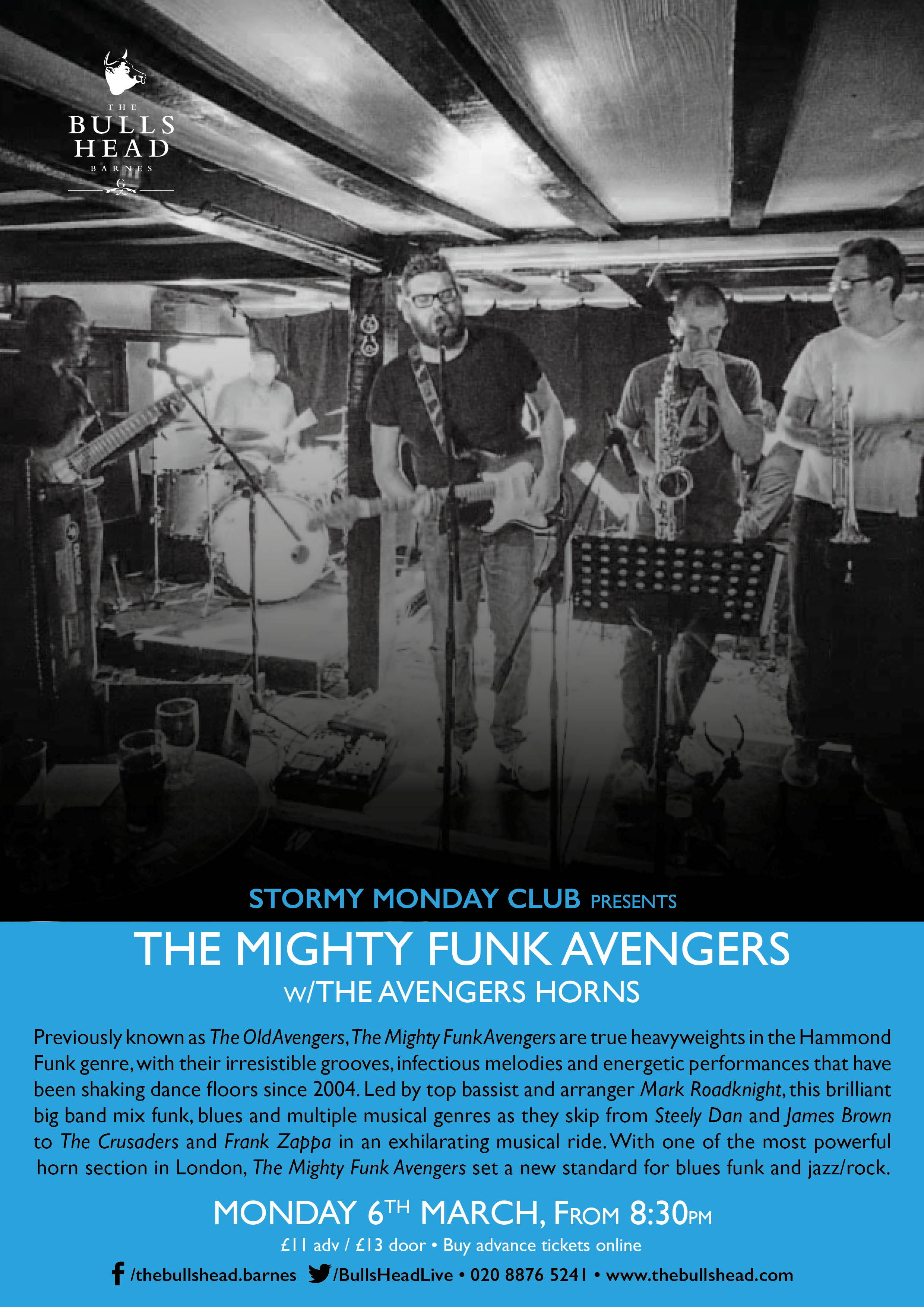 Mighty Funk Avengers w/The Avengers Horn