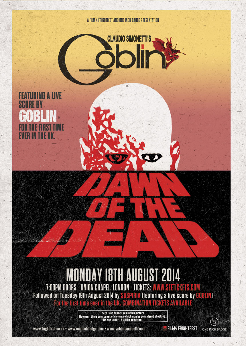 Dawn of the Dead (Ft Live Score By Goblin)