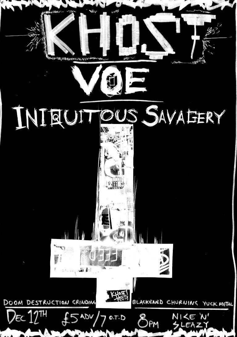 Khost + Voe + Iniquitous Savagery