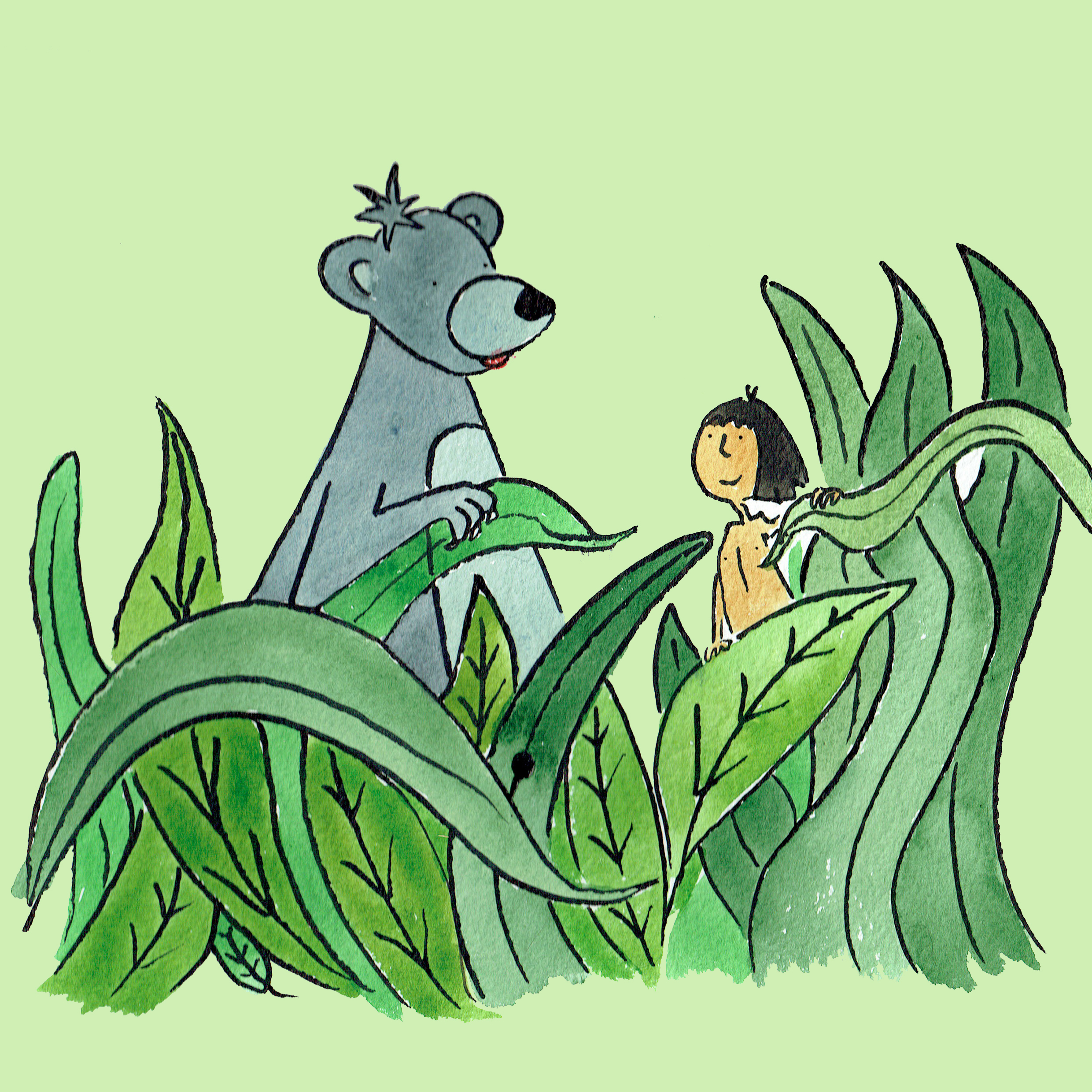 Musical tale of The Jungle Book