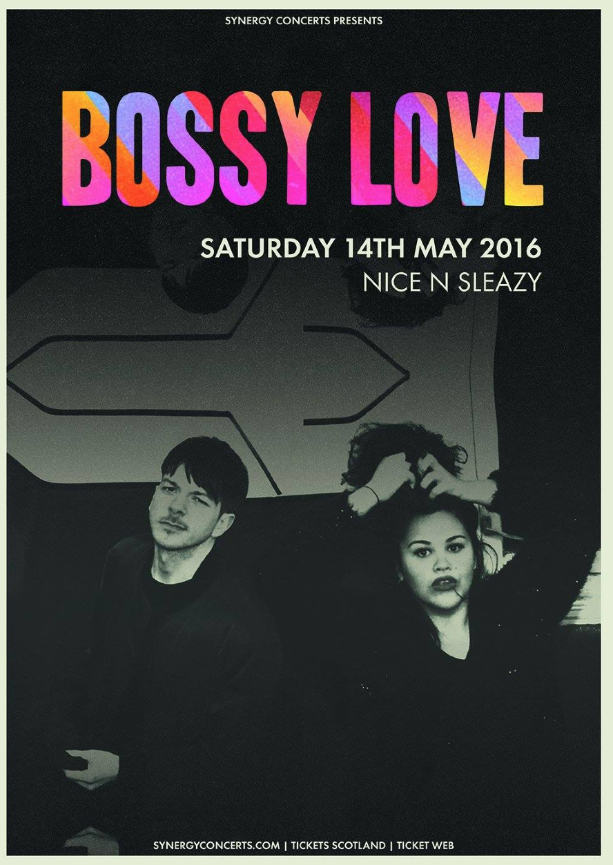 Synergy Concerts Presents: BOSSY LOVE + guests