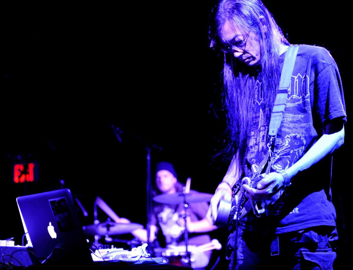 Merzbow and Balasz Pandi