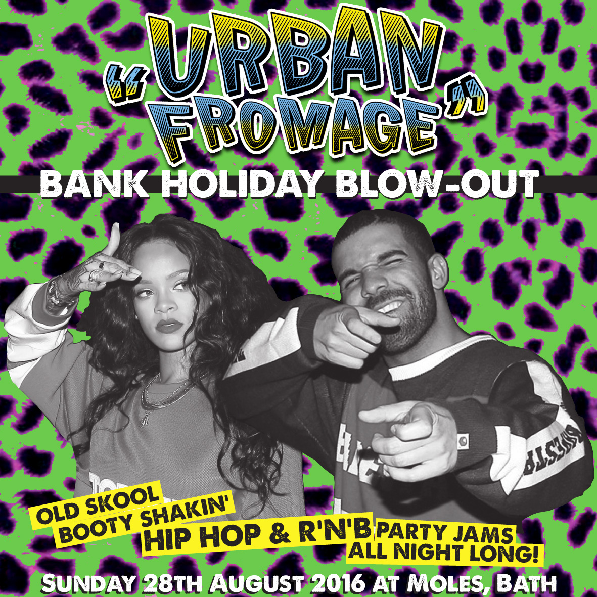 URBAN FROMAGE - Bank Holiday Blow Out!