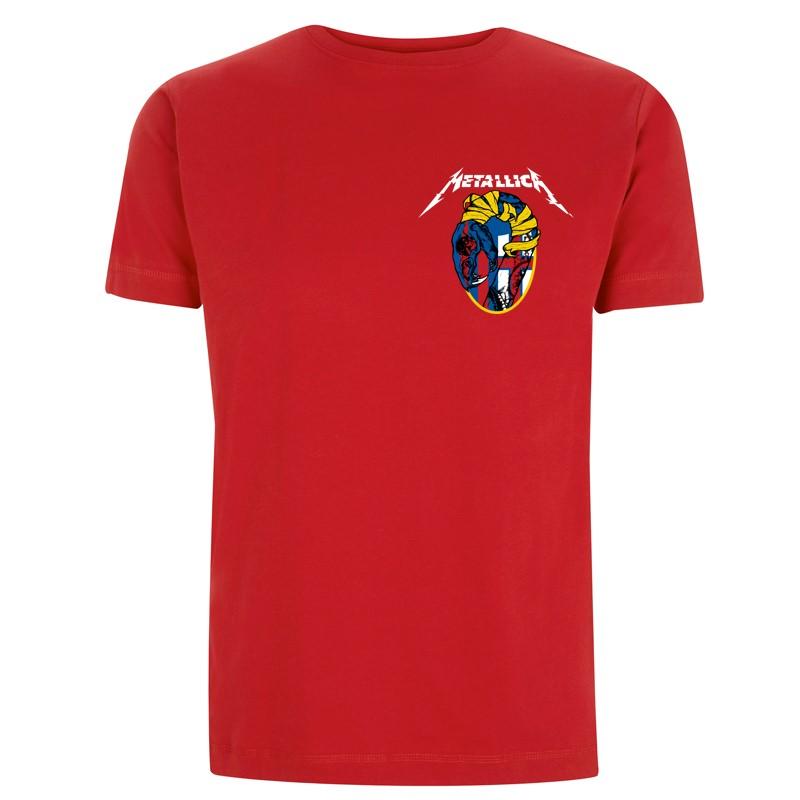 Bologna Football – Red Tee - Metallica