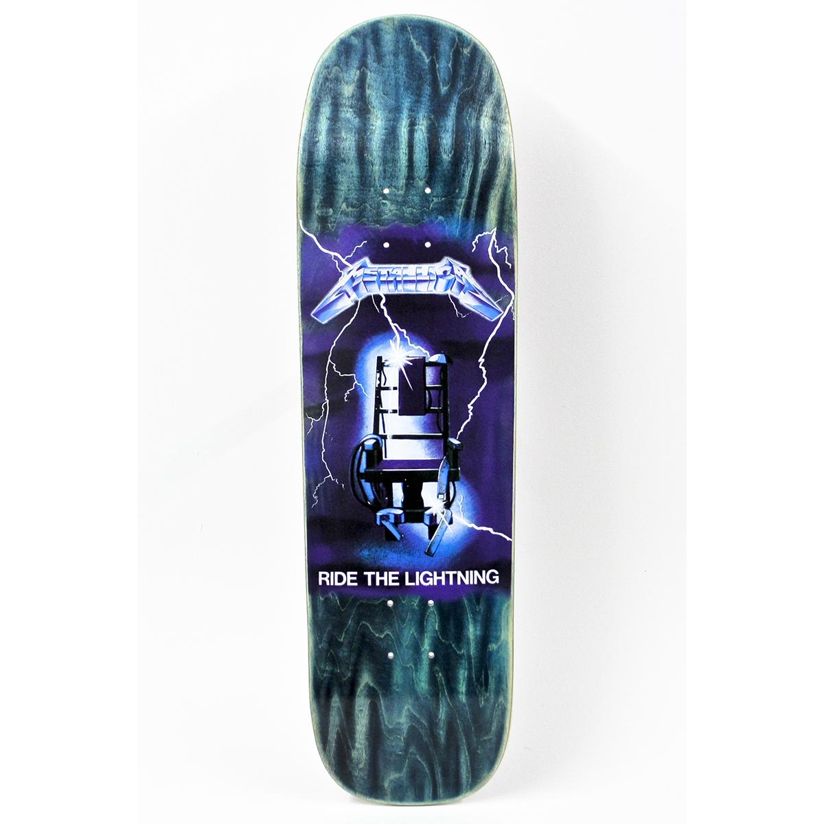 Ride The Lightning – Pool Skateboard - Metallica