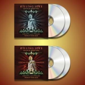 Laugh At Your Peril - Live In Berlin & London 2x CD Bundle - Killing Joke