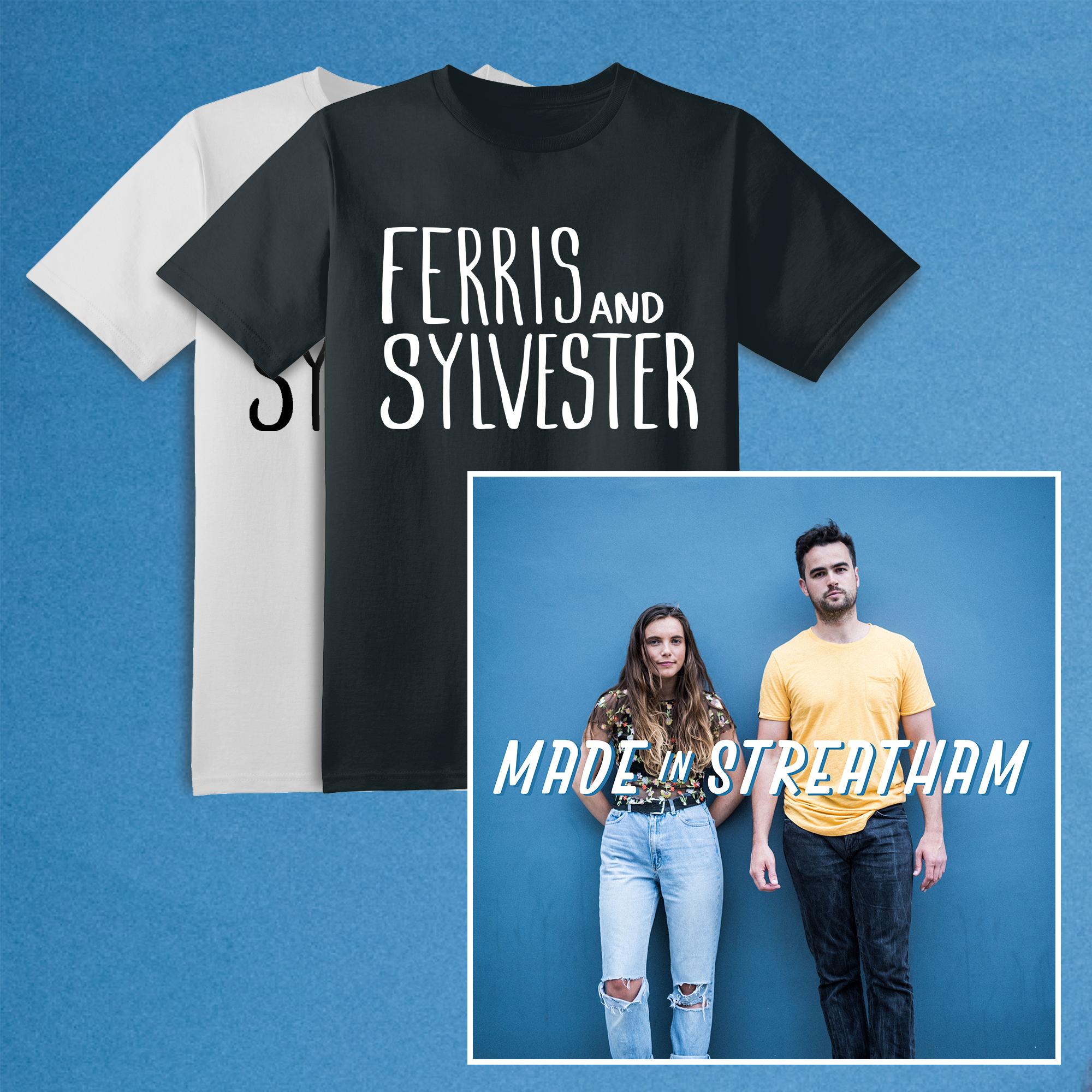 Signed CD + T-shirt - Ferris & Sylvester