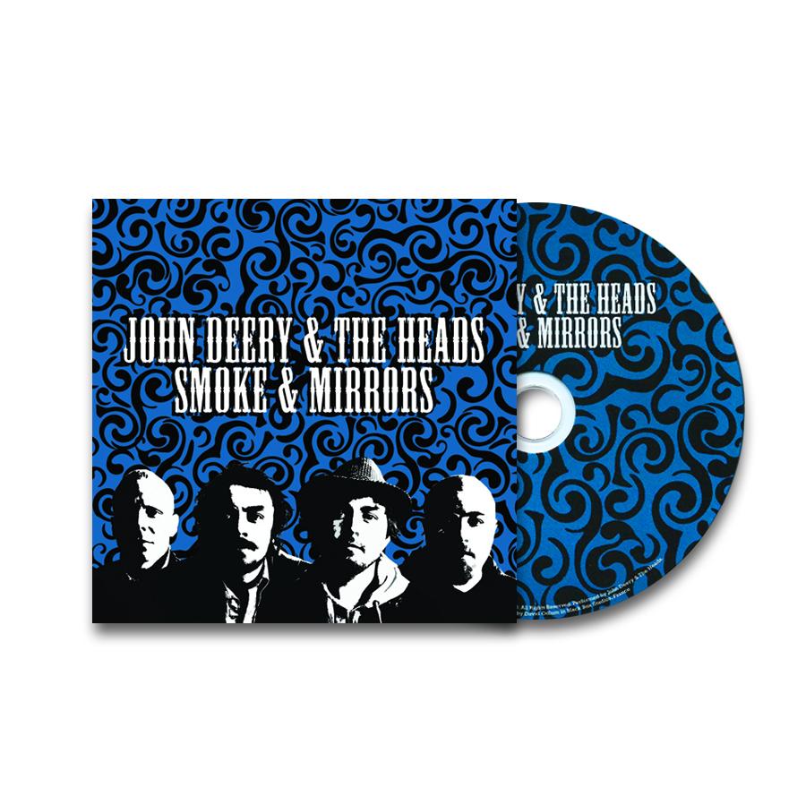 Smoke and Mirrors (CD) - John Deery and The Heads