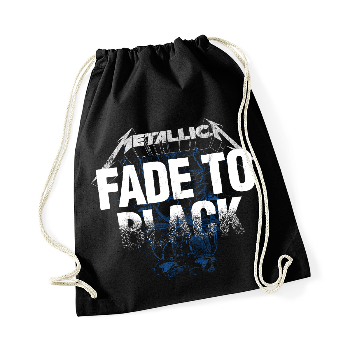 Fade to Black - Drawstring Black Bag - Metallica