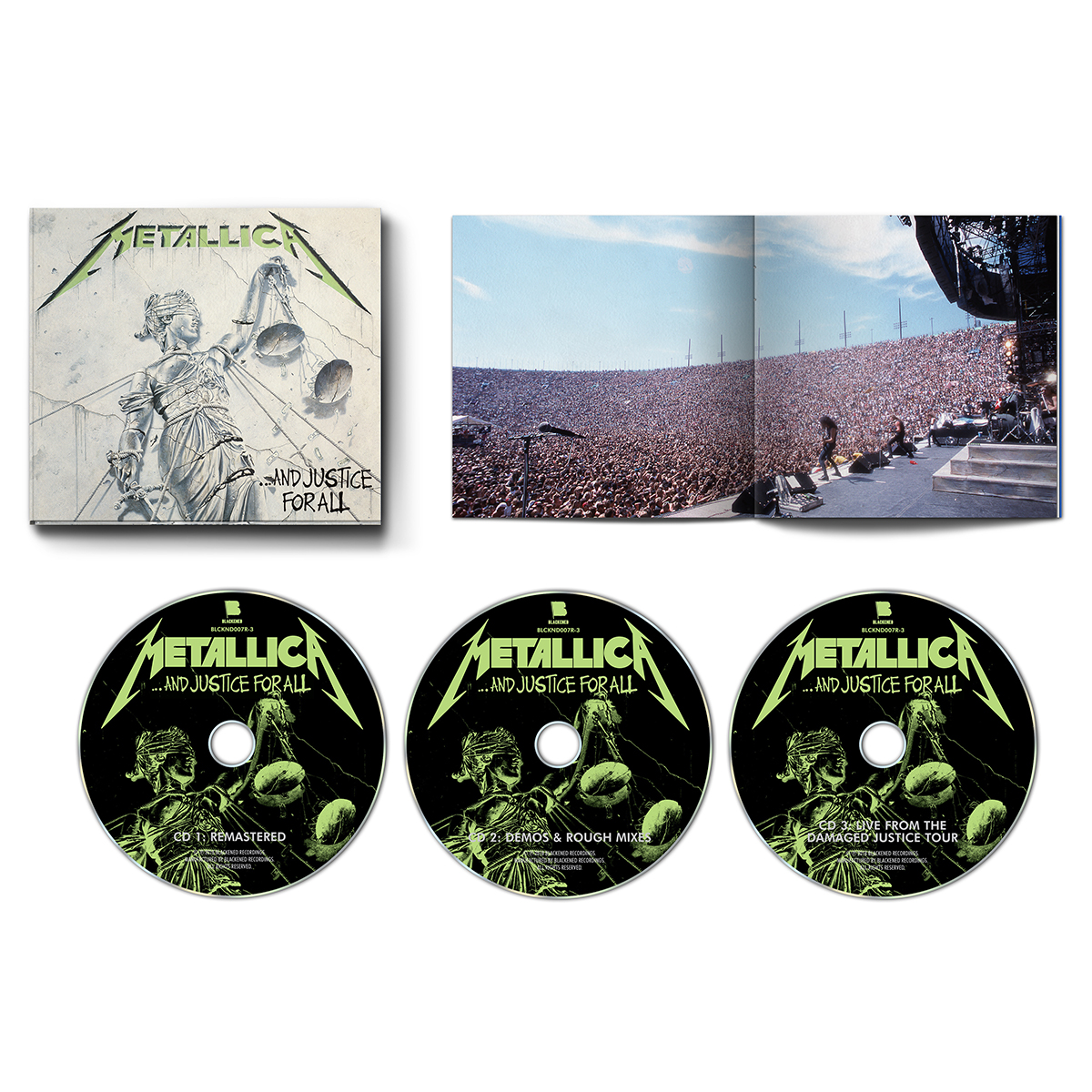 …And Justice For All (Re-Mastered) – 3CD Set - Metallica