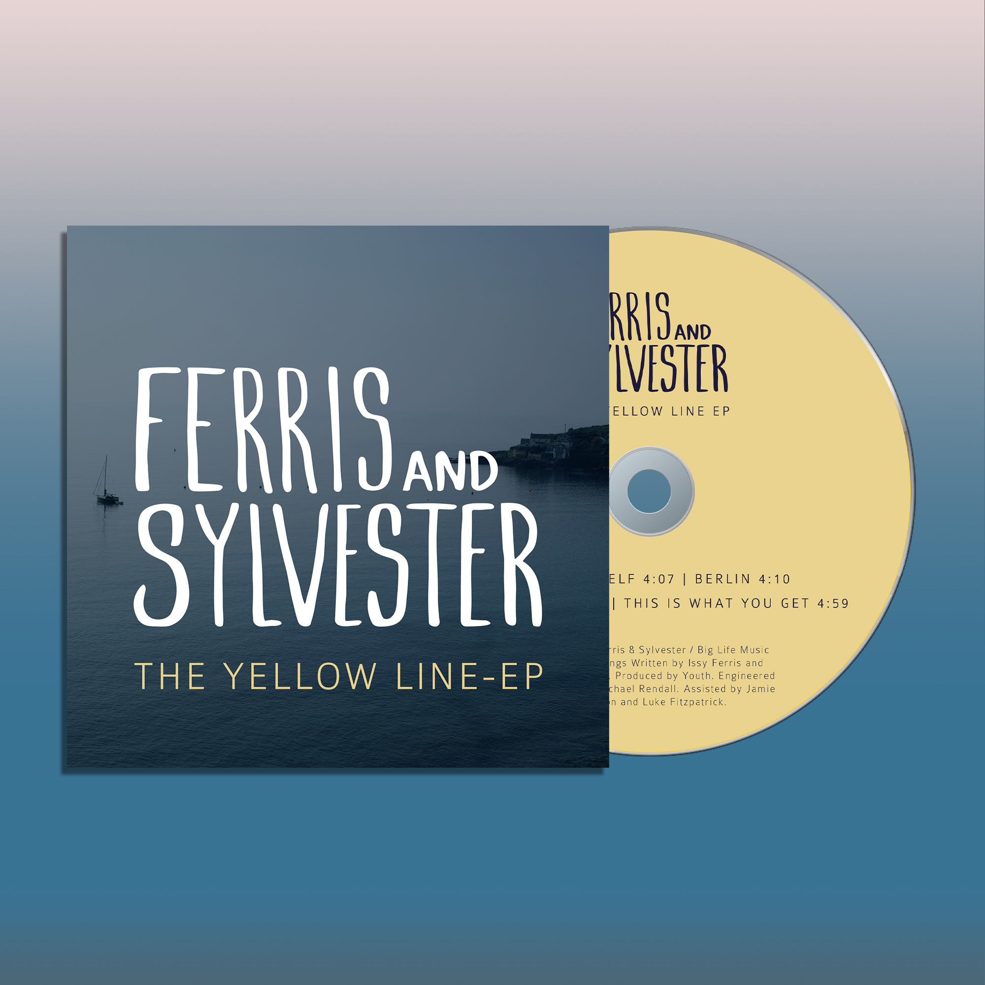 'The Yellow Line' (Signed CD) - Ferris & Sylvester