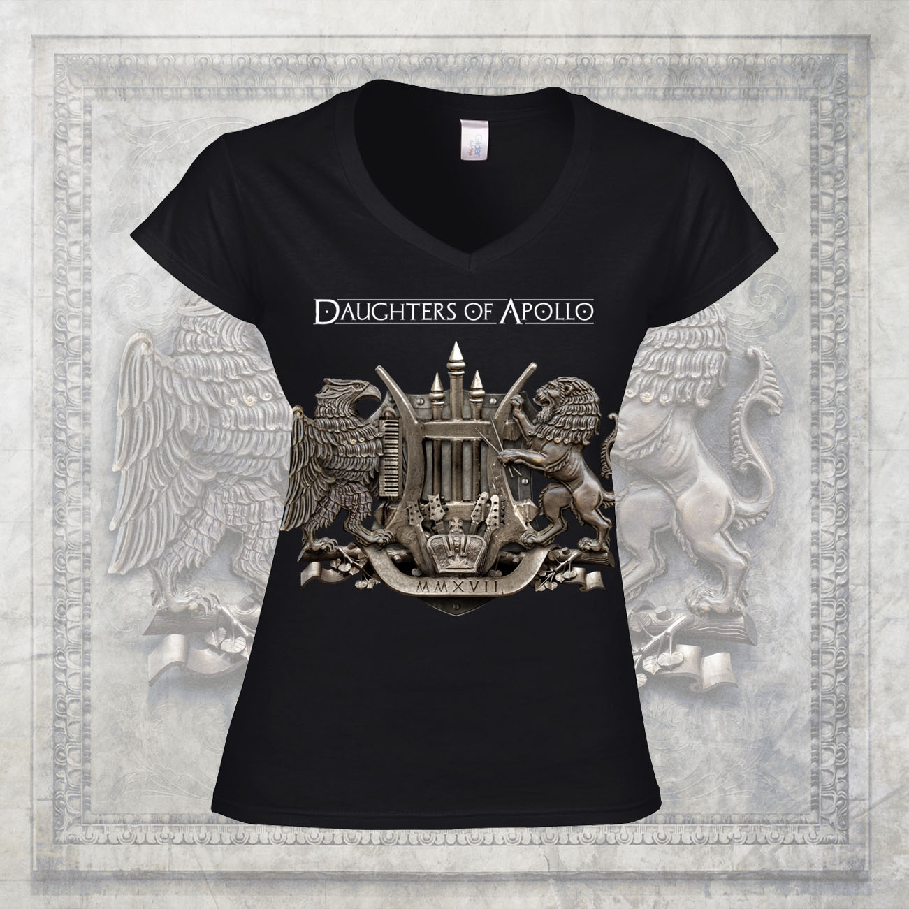 Sons of Apollo - 'Daughters...' V-Neck T-Shirt - Sons of Apollo
