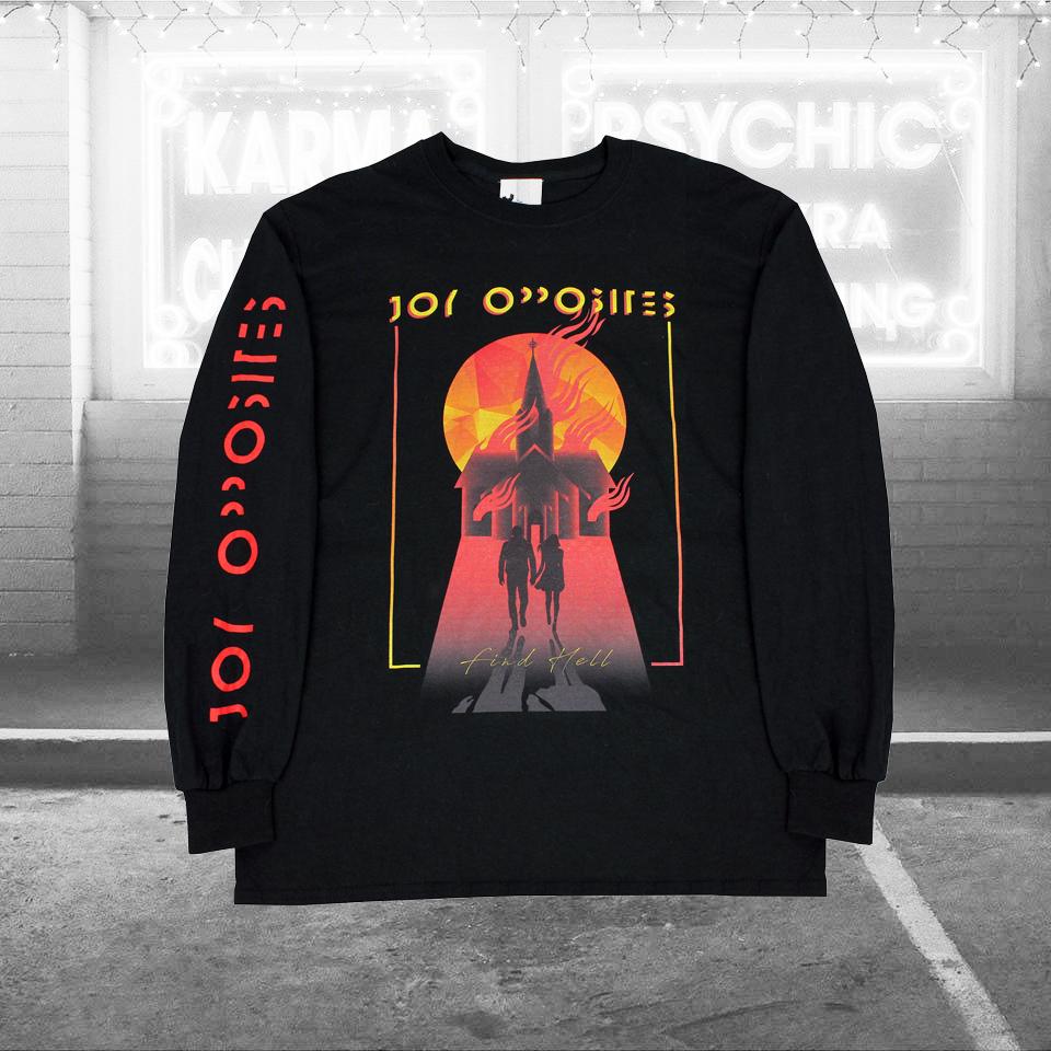 'Find Hell' Longsleeve - Joy Opposites