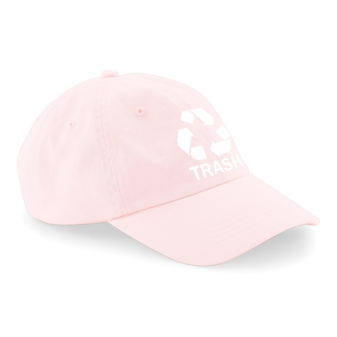 LOGO CAP [WHITE OR PINK] - TRASH