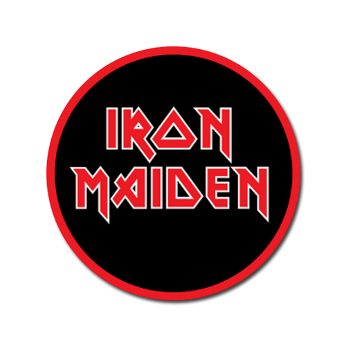 Stacked Logo Patch - Iron Maiden [Global USA]