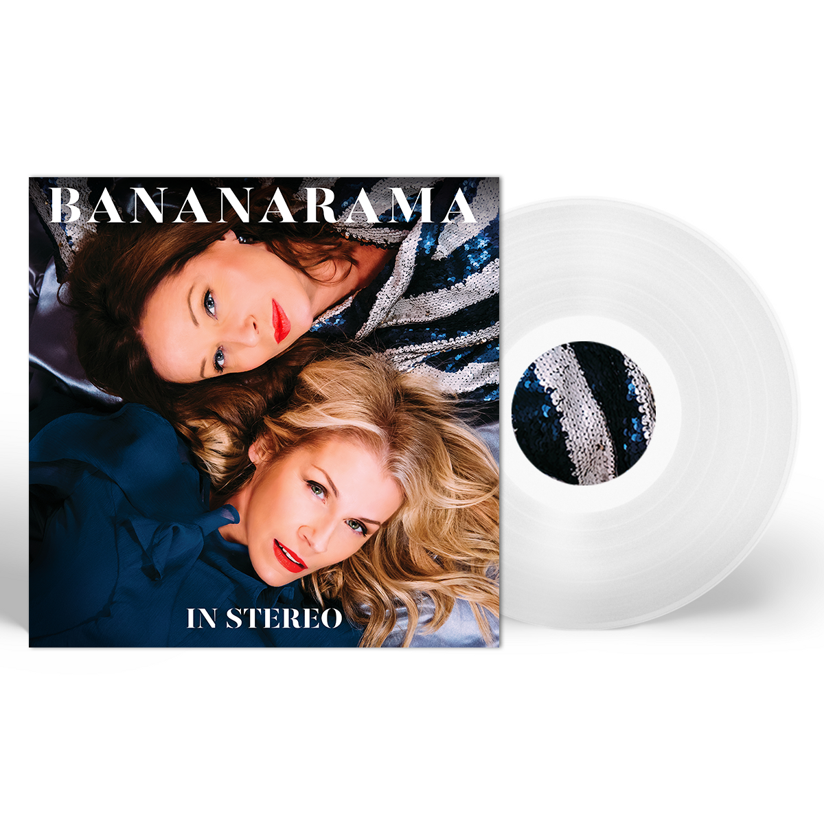 "In Stereo (Limited Signed Clear 12"" Vinyl) - Bananarama"