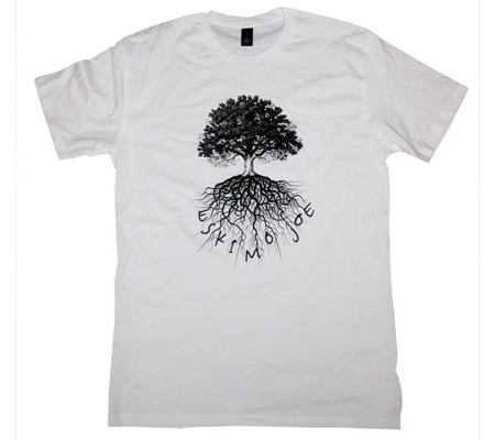 Tree - White Tee - Eskimo Joe