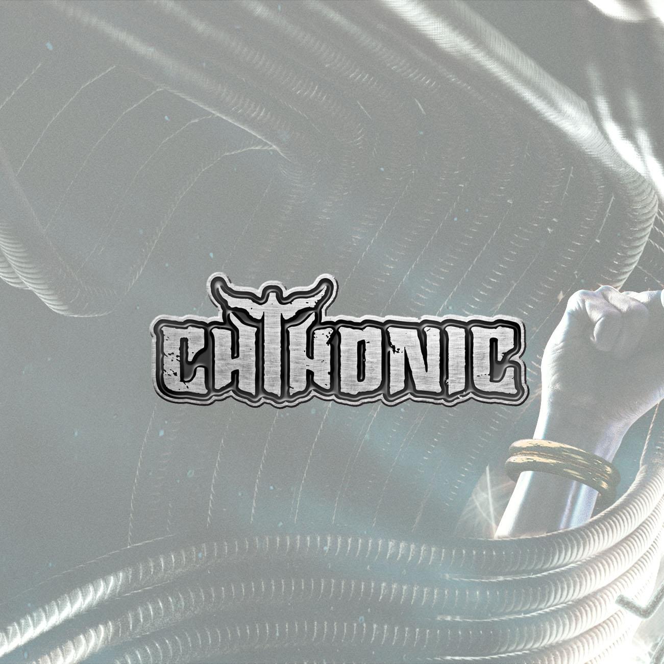 CHTHONIC - 'Logo' Metal Pin Badge - CHTHONIC