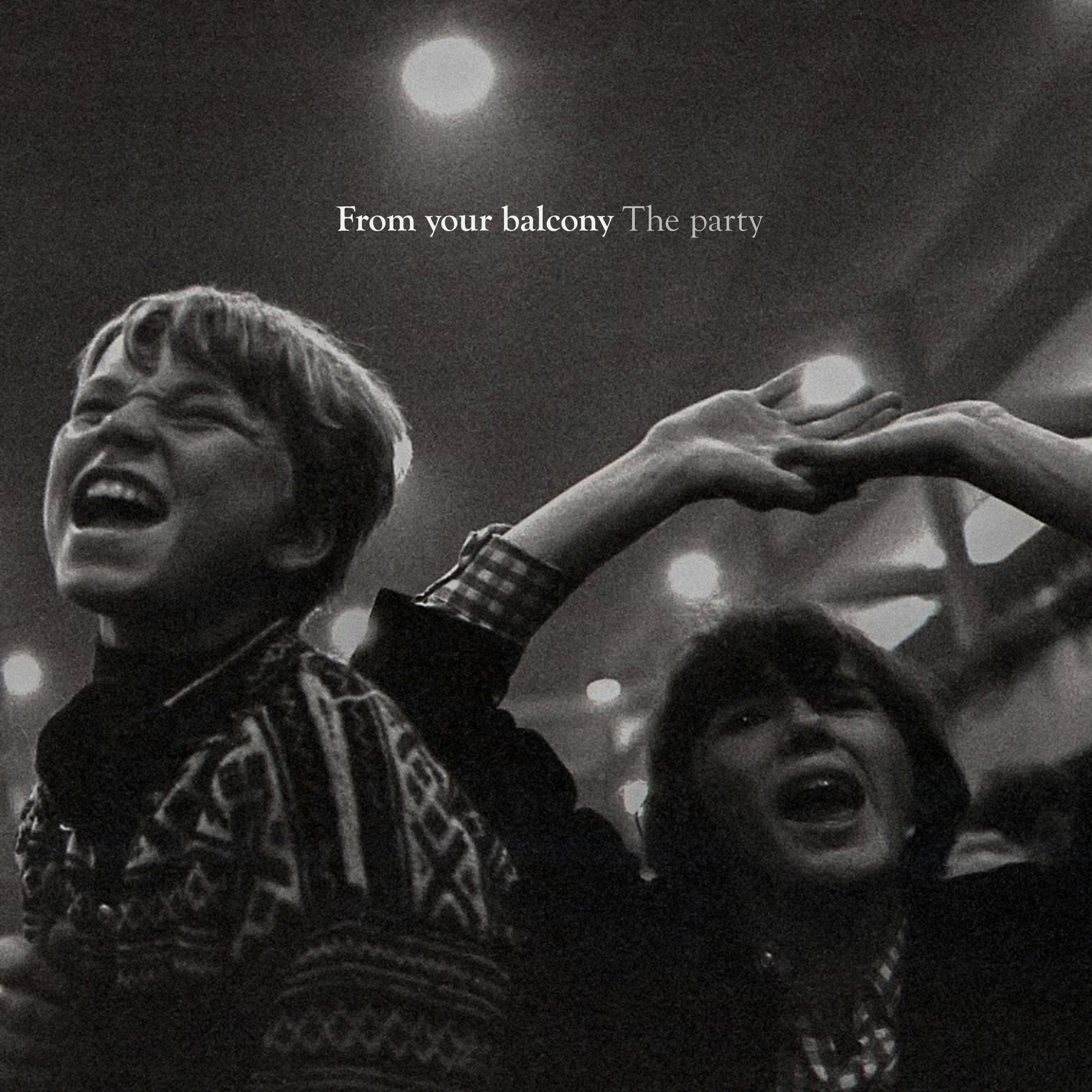The party EP CD - From your balcony
