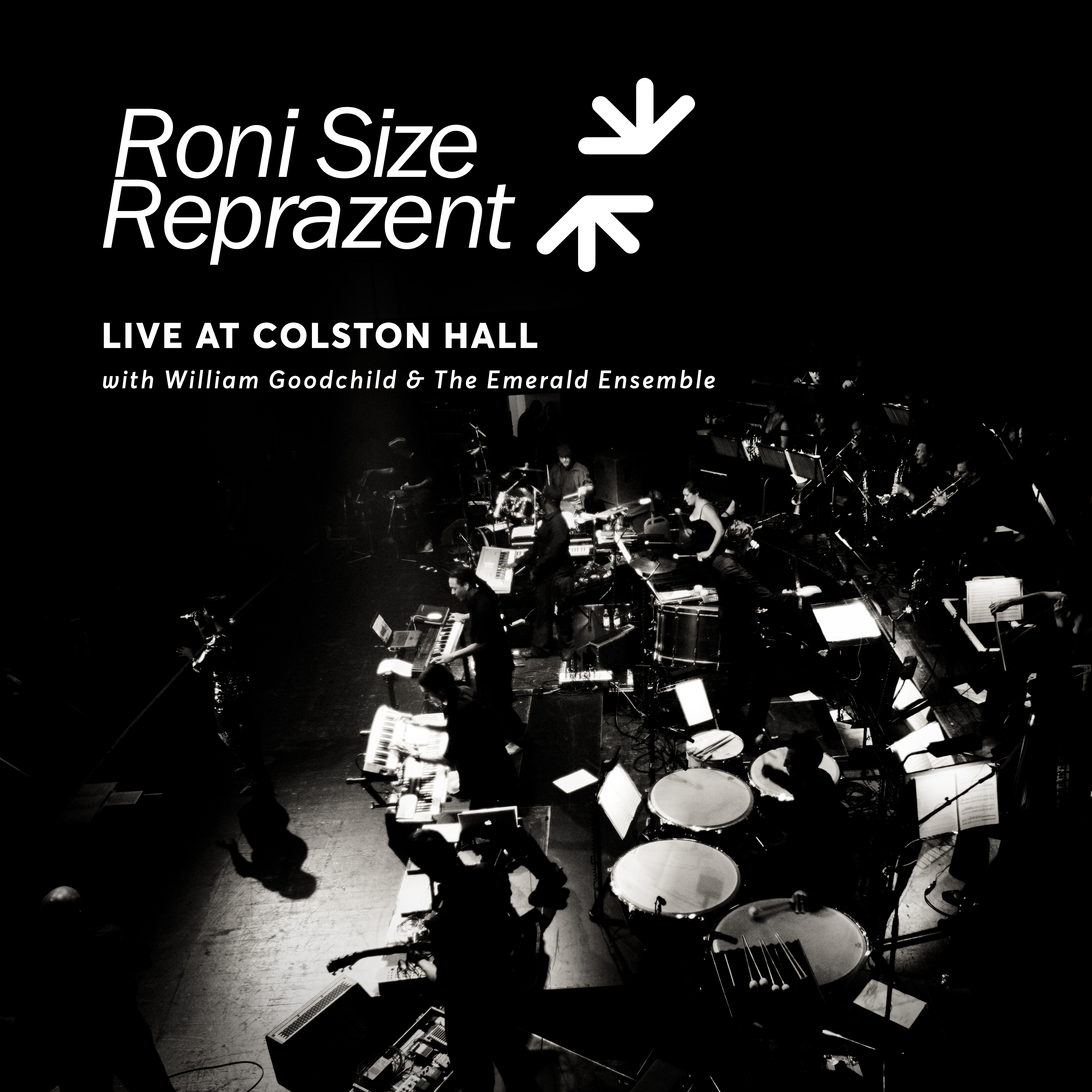 Live At Colston Hall (with William Goodchild & The Emerald Ensemble) [Digital Download] - Roni Size