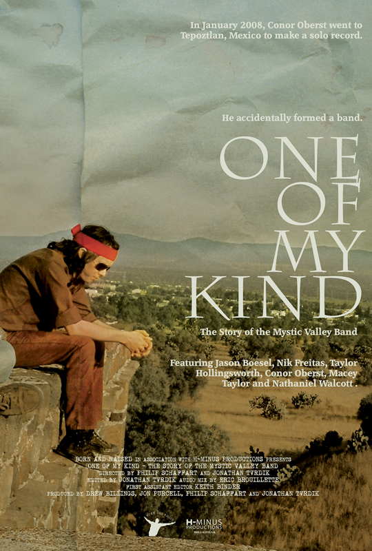 """Conor Oberst & Mystic Valley Band - """"One of my Kind"""" Movie Poster - Conor Oberst"""