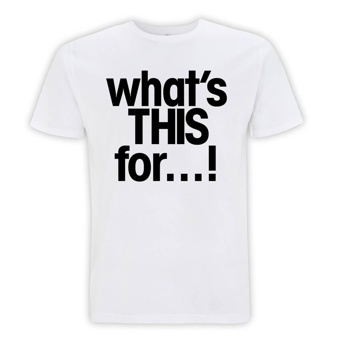 What's This For White T-Shirt - Killing Joke