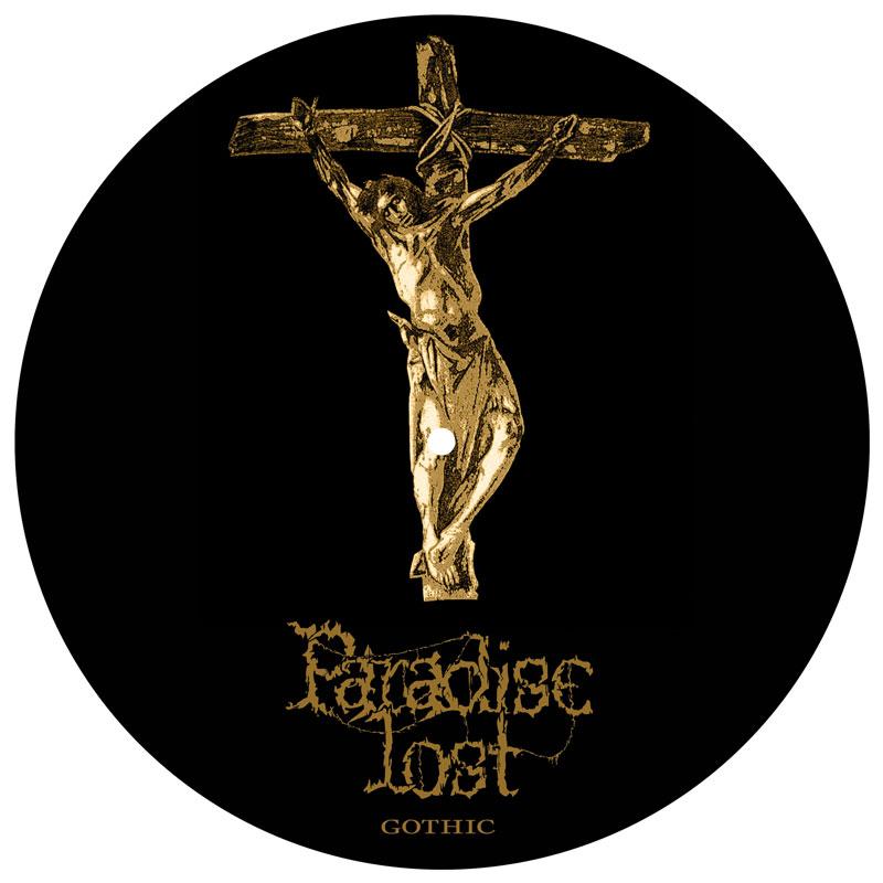 Paradise Lost -  Gothic Vinyl Slipmat - Paradise Lost