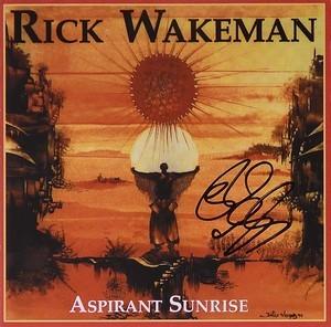 Signed Aspirant Sunrise CD - Rick Wakeman Emporium