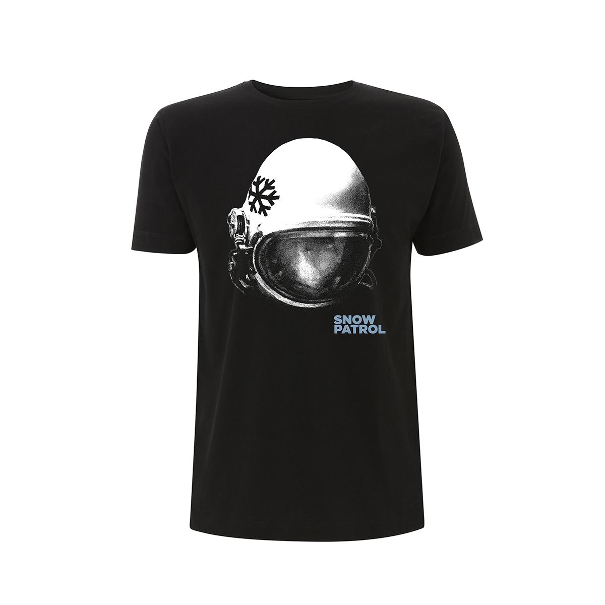 Helmet Black Tee -  European Date Back - Snow Patrol