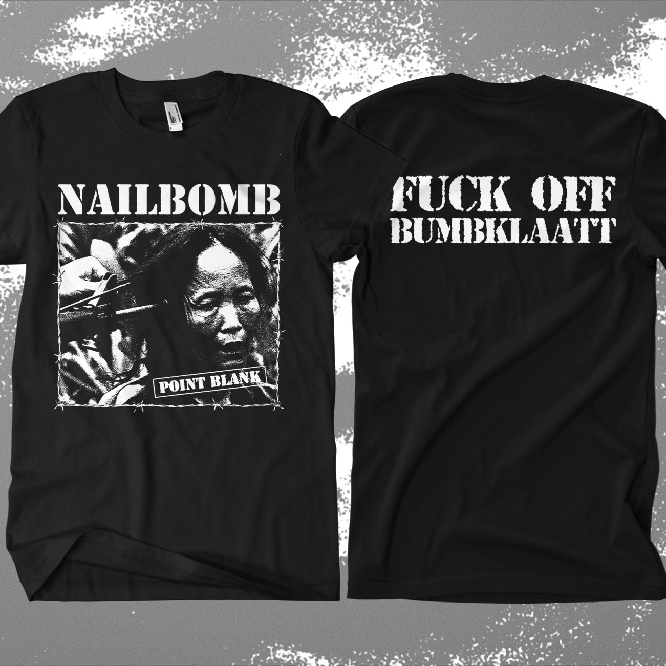 Nailbomb - 'Bumbklaatt' T-Shirt - Soulfly