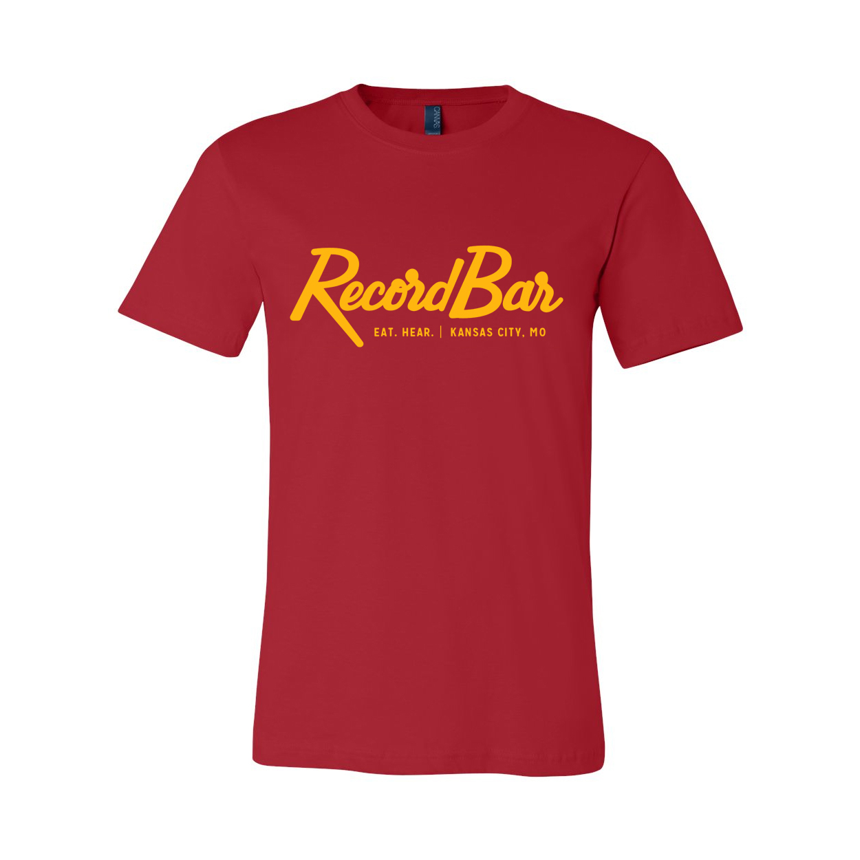 Red and Yellow Rocker Tee - recordBar