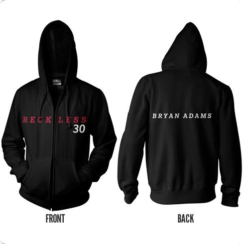 Reckless - Zipped Hood - Bryan Adams