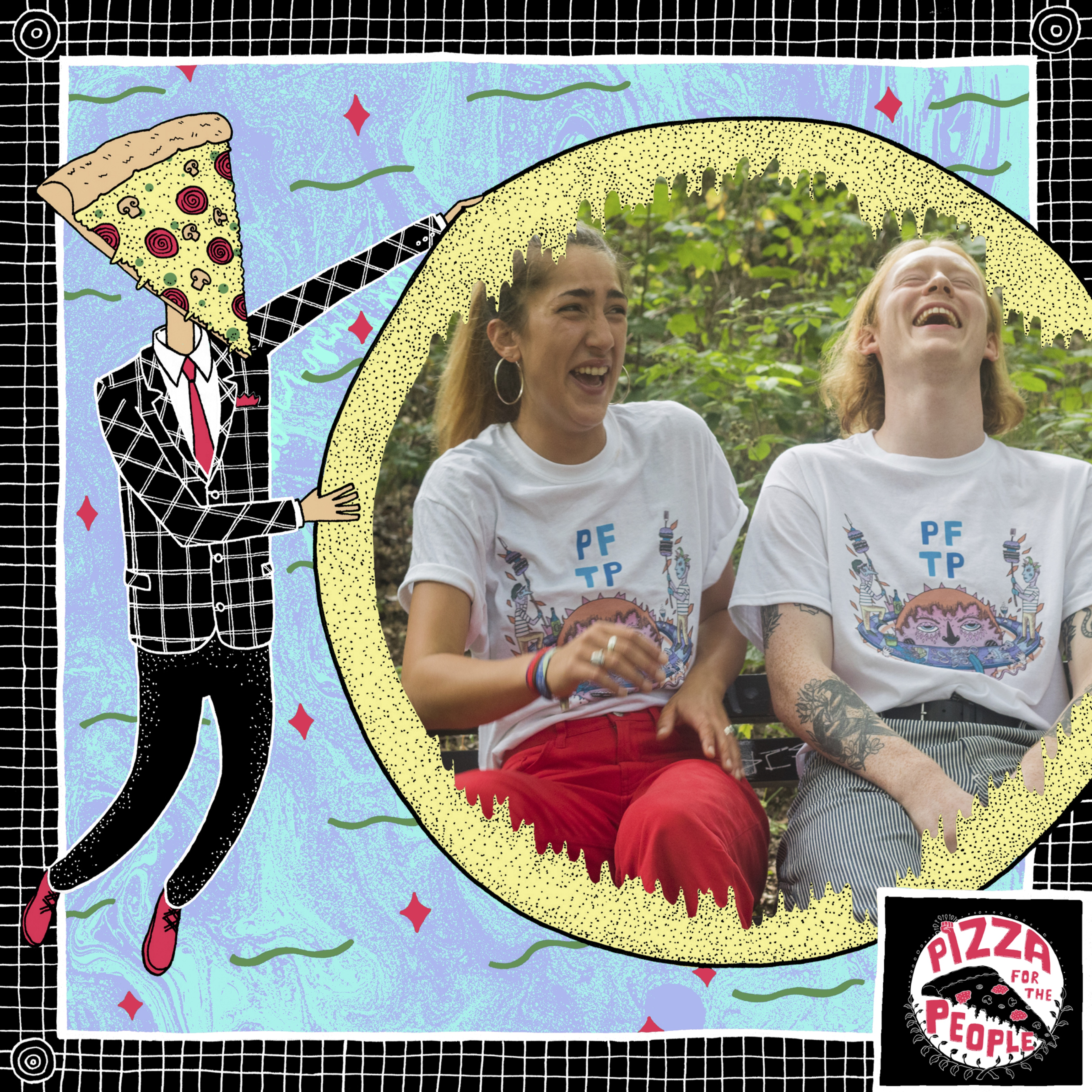 PFTP Greedy Tee - Pizza For The People