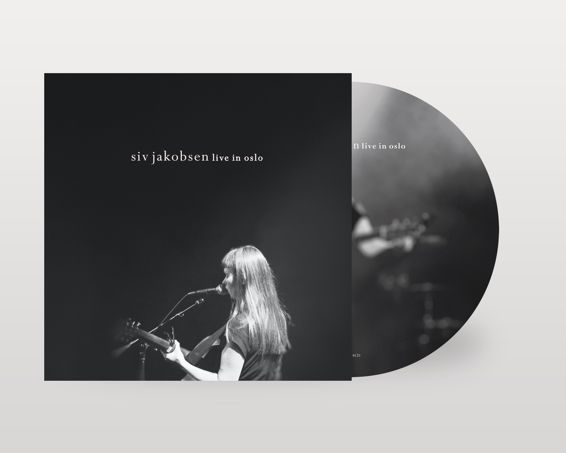 Live In Oslo CD + Digital Download (Signed or Unsigned) - Siv Jakobsen