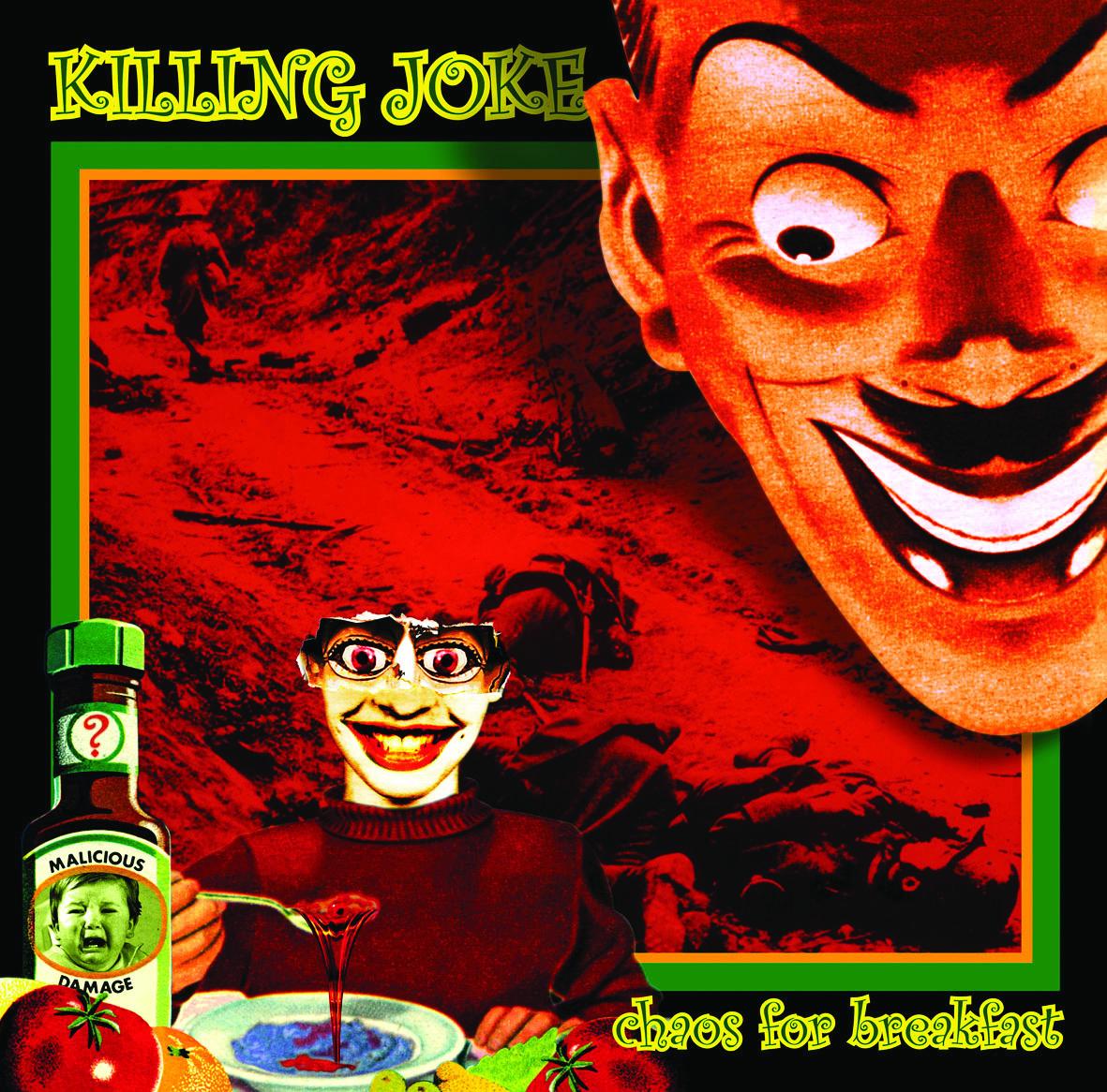 Chaos For Breakfast 5x CD Set - Killing Joke