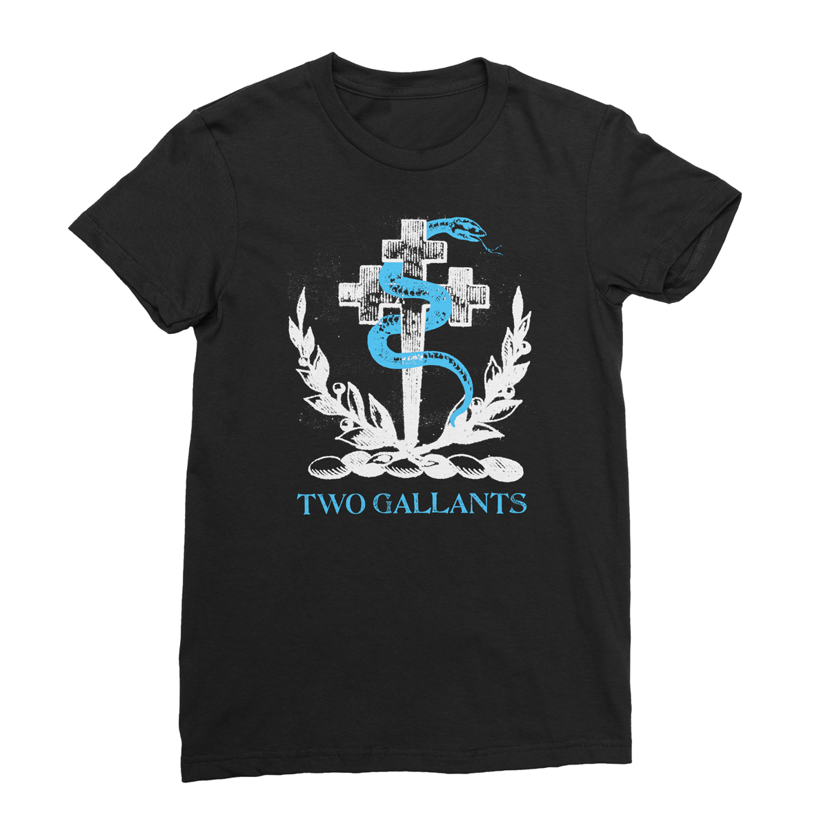 Crest Tee - Black - Two Gallants