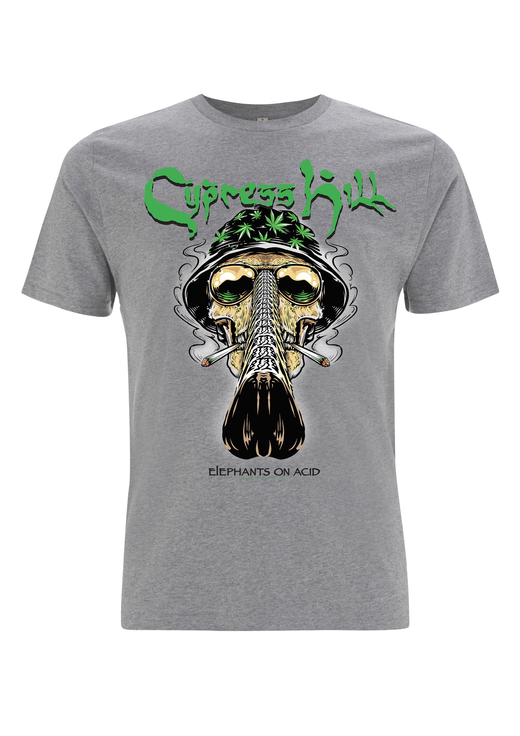 Fear & Loathing - Melange Grey Tee - Cypress Hill