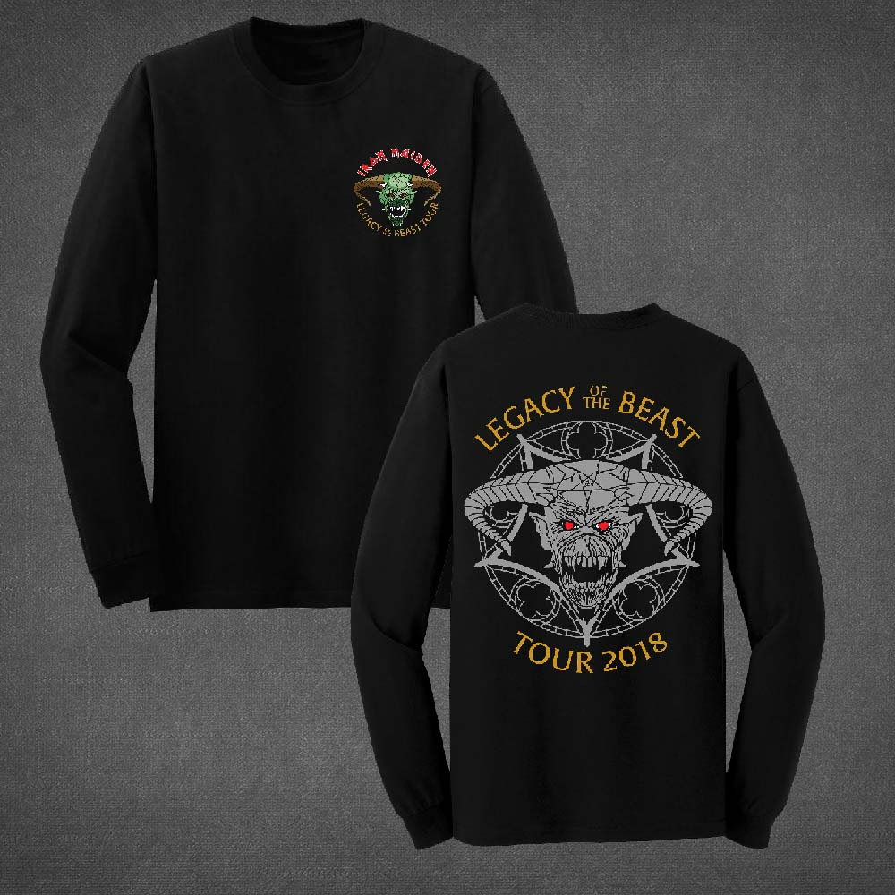 Legacy of the Beast Long Sleeve Tour Shirt - Iron Maiden [Global UK]