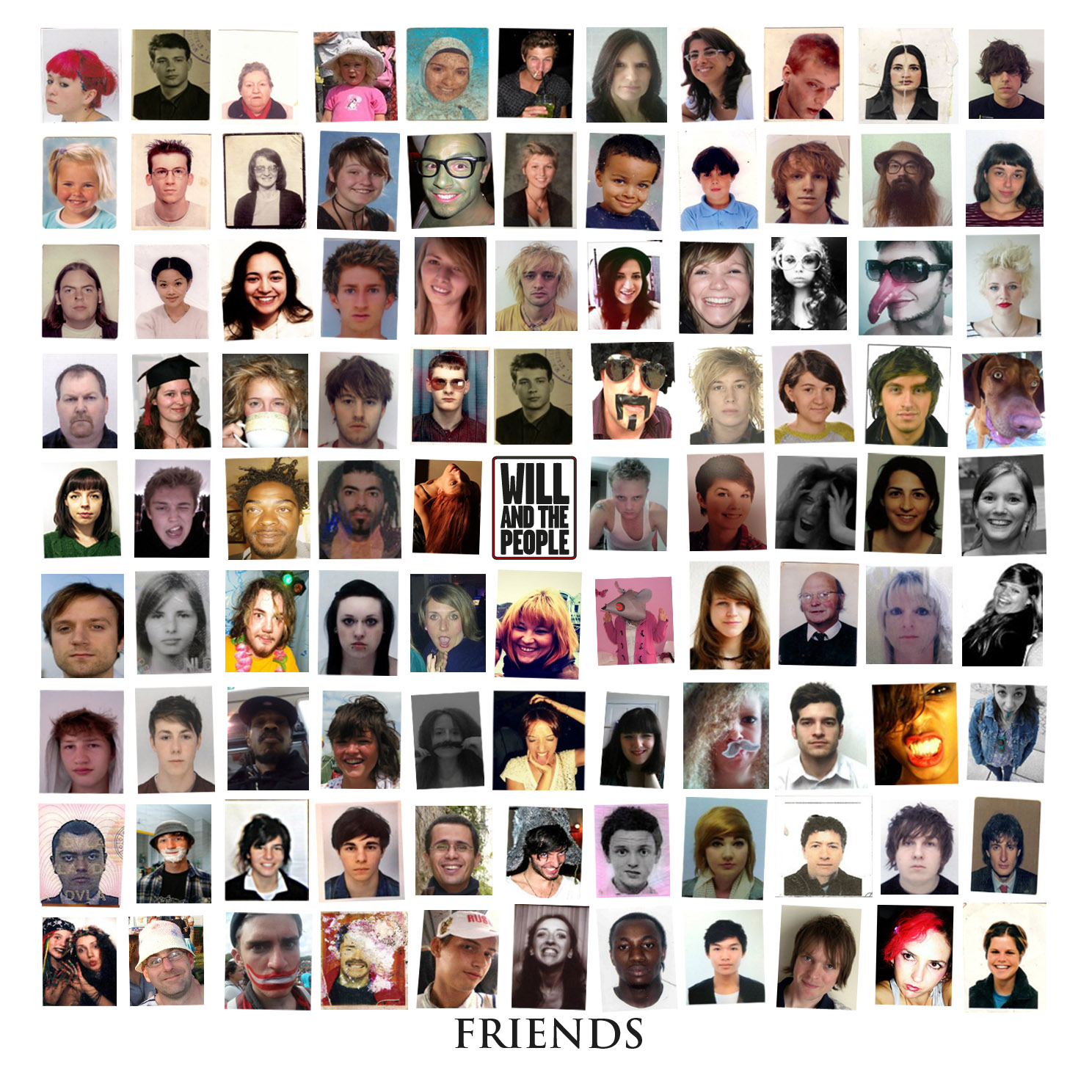Friends MP3 Album - Will and The People