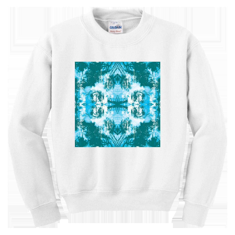 Dissolve Oversized Sweatshirt [White] - Tusks US
