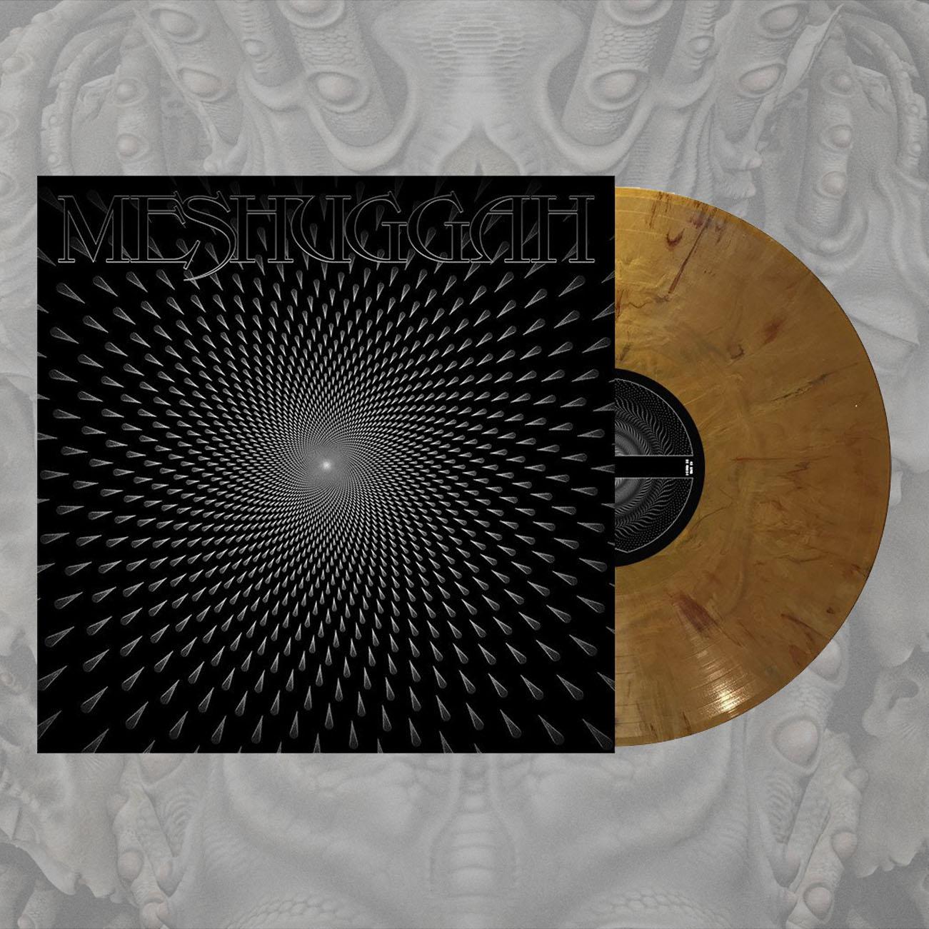 Meshuggah - 'Meshuggah' Gold LP - Meshuggah