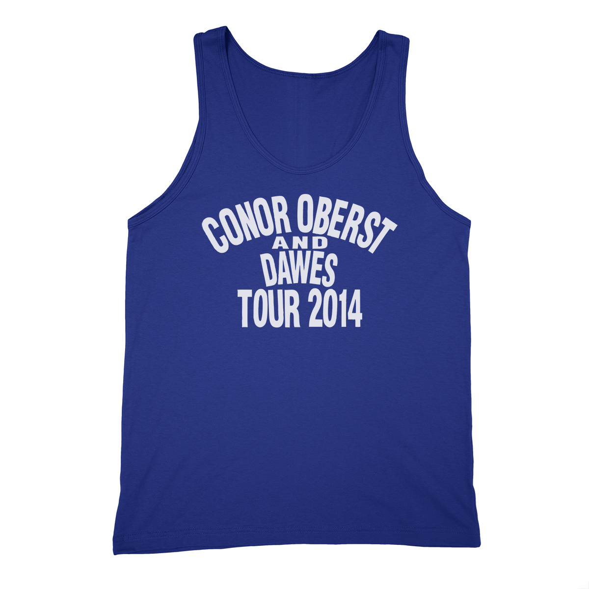 Dawes 2014 Tour Tank Top - Conor Oberst