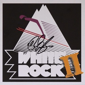Signed White Rock II CD - Rick Wakeman Emporium