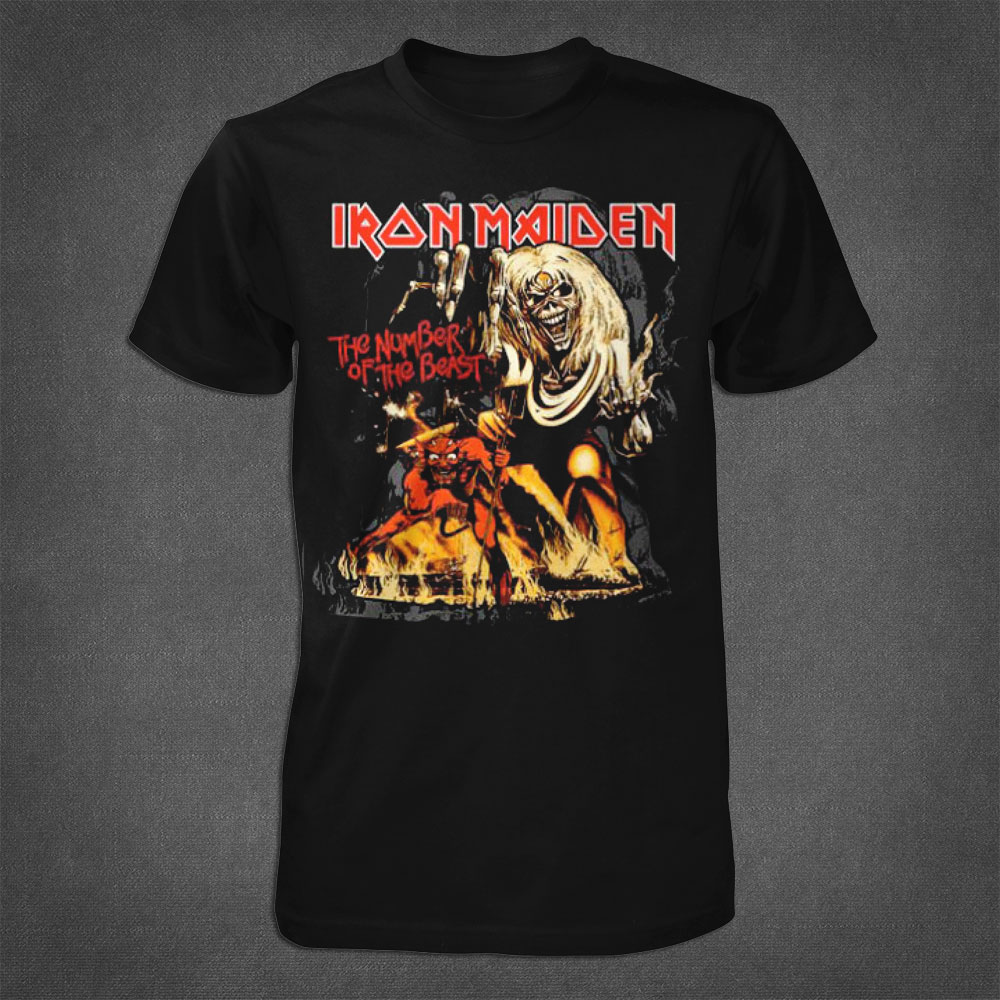 Number Of The Beast Tshirt - Iron Maiden [Global USA]